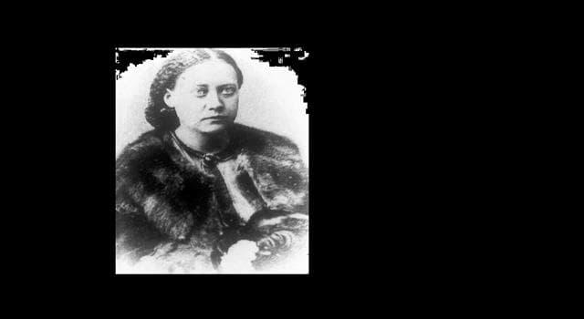 Cultura Pregunta Trivia: ¿En qué año nació la escritora y ocultista rusa Helena Blavatsky?