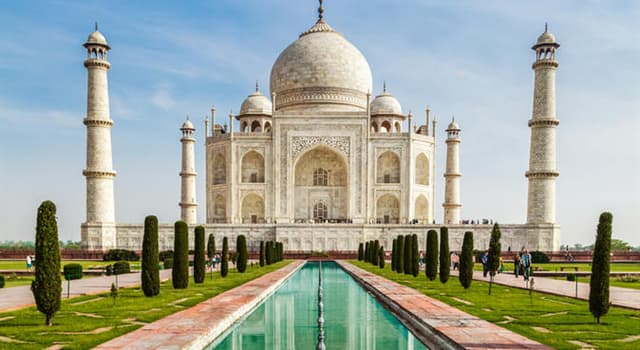 Cultura Trivia: ¿En qué país se encuentra el Taj Mahal?