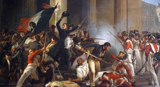 Geschichte Wissensfrage: In welchem Zeitraum wurde die Französische Revolution durchgeführt?