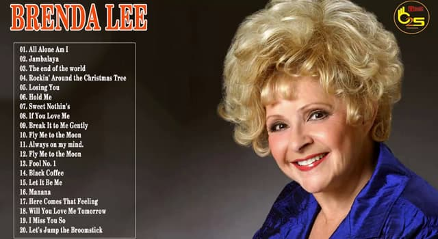 Rockin Around The Christmas Tree Brenda Lee.How Old Was Brenda Lee When She Trivia Questions