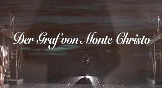 """Kultur Wissensfrage: Welcher französische Autor hat den Roman """"Der Graf von Monte Christo"""" geschrieben?"""