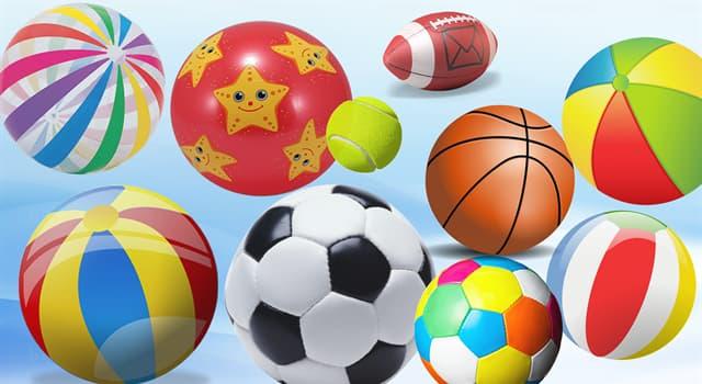 Sport Wissensfrage: Welches Spiel wird mit einem Ball gespielt?