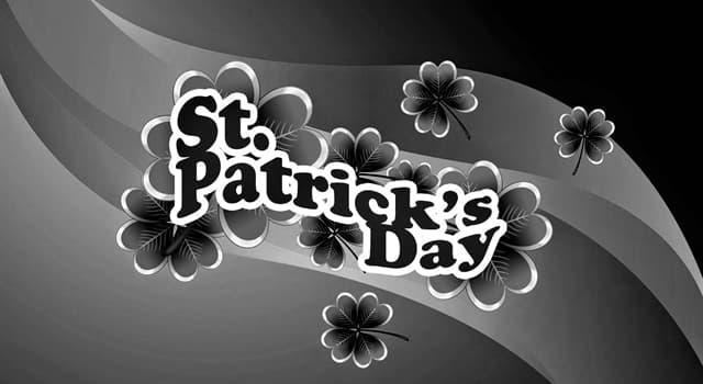 Kultur Wissensfrage: Welche Farbe trägt man zum St. Patrick's Day?