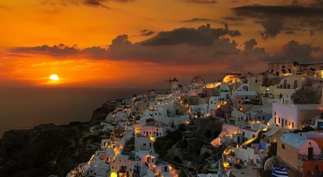 Kultur Wissensfrage: Wo liegen die Inseln Santorin und Mykonos?