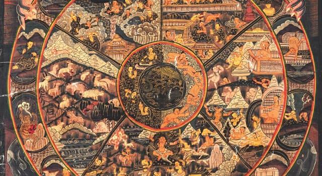 Kultur Wissensfrage: Welchen Begriff benutzt man in den indischen Religionen für den Zyklus des Seins?