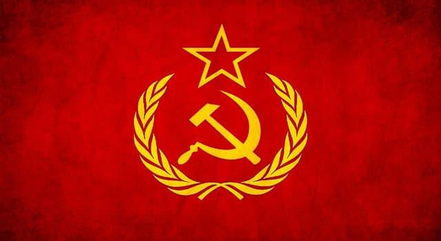 Geschichte Wissensfrage: Wer war der erste und einzige Staatspräsident der Sowjetunion?
