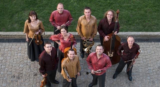 Kultur Wissensfrage: Wie heißt eine Musikgruppe aus 9 Personen?
