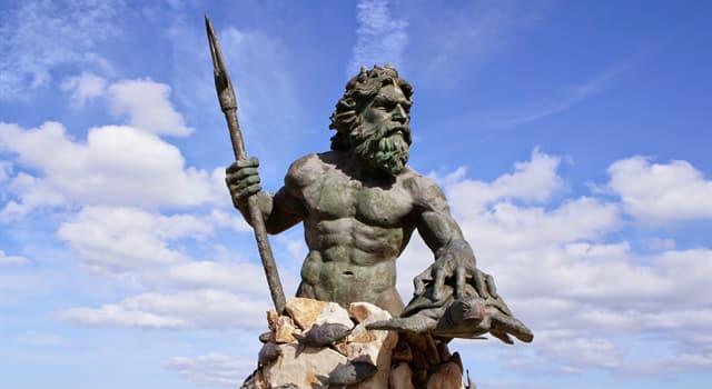 Kultur Wissensfrage: Wie hieß der Gott des Meeres in der griechischen Mythologie?