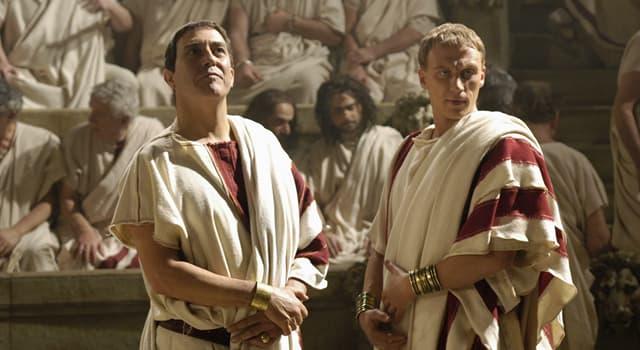 Kultur Wissensfrage: Wie hieß ein Kleidungsstück des freien Römischen Bürgers?