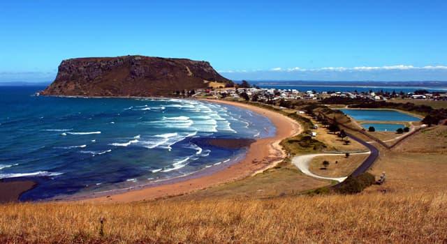 Geographie Wissensfrage: Wo liegt Tasmanien?