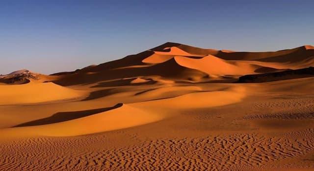 Geographie Wissensfrage: Auf welchem Kontinent befindet sich die Wüste Sahara?