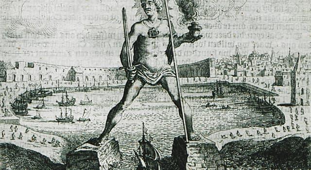Geschichte Wissensfrage: Wie wurde der Koloss von Rhodos zerstört?