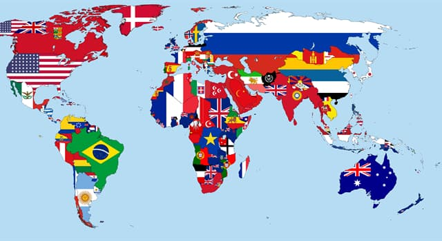 Geographie Wissensfrage: Welche Flagge ist die einzige Nationalflagge der Welt, deren Farben können geändert werden?