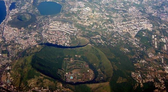Geographie Wissensfrage: Wo befinden sich die Phlegräischen Felder?