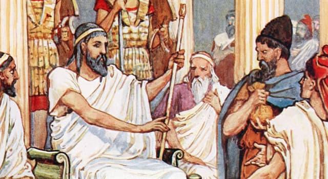 Kultur Wissensfrage: Wie ist der Name einer Gruppe von Persönlichkeiten des öffentlichen Lebens in der griechischen Antike?