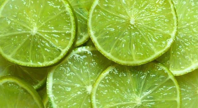 Natur Wissensfrage: Limetten sind Zitronen, die früh gepflückt werden.