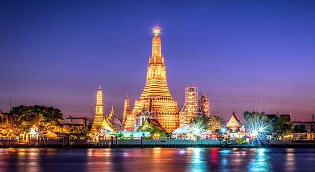 Geographie Wissensfrage: Was ist die Hauptstadt von Thailand?