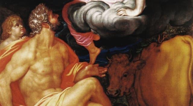 Kultur Wissensfrage: Wer war in der griechischen Mythologie die Gattin und gleichzeitig die Schwester von Zeus?