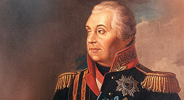 History Trivia Question: What was the first name of Field Marshal Kutuzov of the Russian Empire?
