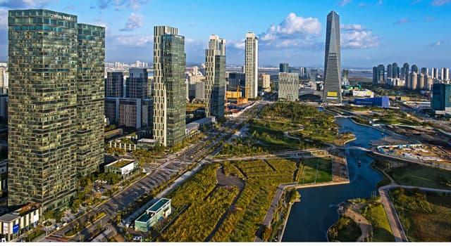 Geographie Wissensfrage: Wo liegt die Stadt Incheon?