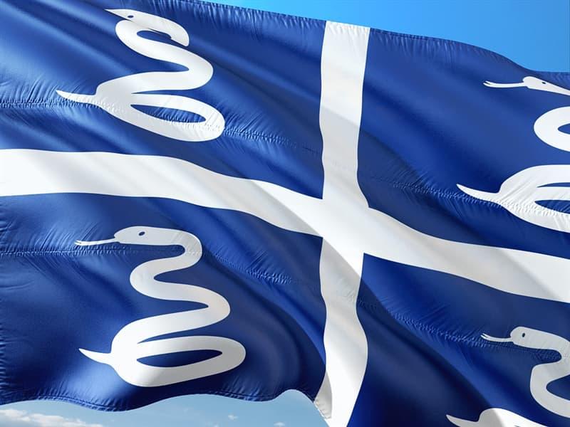 Geografía Pregunta Trivia: ¿De qué país es la bandera que aparece en la imagen?