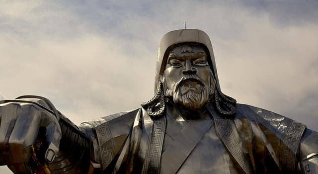 History Trivia Question: How old was Genghis Khan when his father arranged his first marriage?