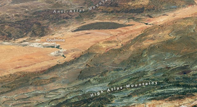 Geography Trivia Question: In which continent are the Atlas Mountains located?