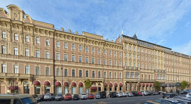 """Geography Trivia Question: In which European city would you find the """"Grand Hotel Europe""""?"""