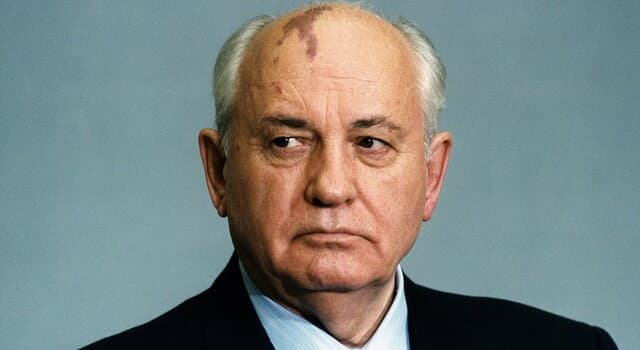 History Trivia Question: In which year did Mikhail Gorbachev receive the Nobel Peace Prize?