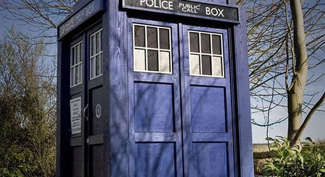 Movies & TV Trivia Question: What sci-fi series is about a man who traveled in a British police box?