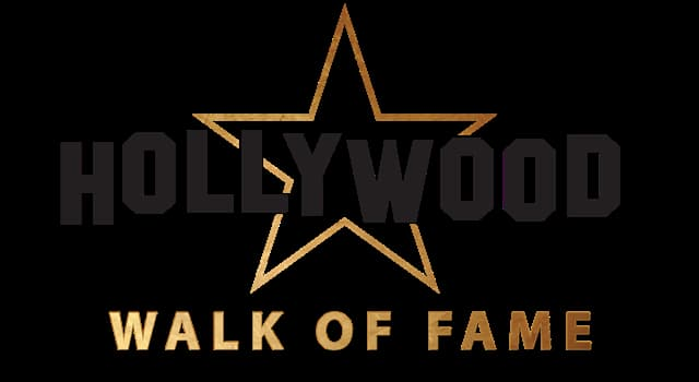 "Culture Trivia Question: What symbol is used for the category ""live theatre"" on the Hollywood Walk of Fame?"