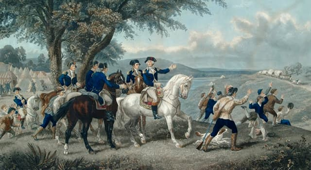 Culture Trivia Question: What was the name of George Washington's half Arabian horse?