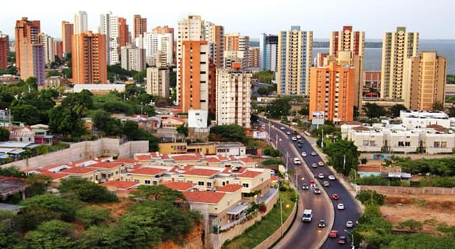 Geography Trivia Question: Where in South America is the city of Maracaibo?