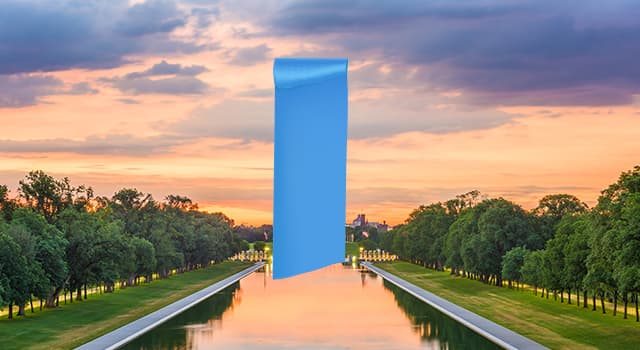 Society Trivia Question: Which famous US monument is hidden in the picture?
