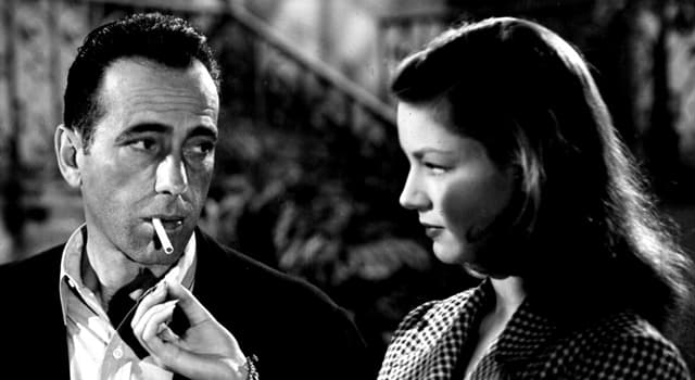 Movies & TV Trivia Question: Which film was the last to feature Humphrey Bogart and Lauren Bacall together?