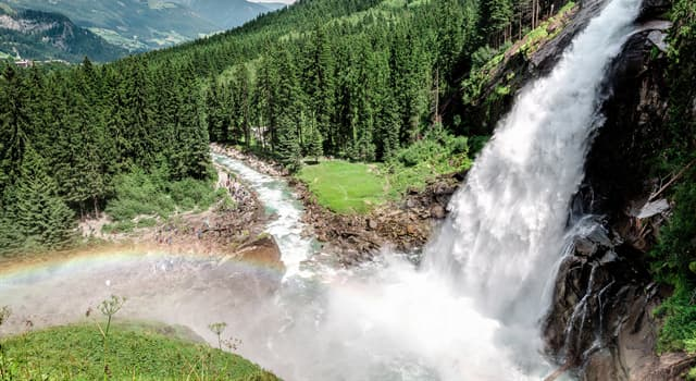 Geography Trivia Question: Which is the highest waterfall in Austria?