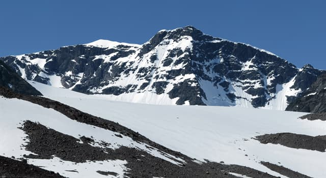 Geography Trivia Question: Which is the highest mountain in Sweden?