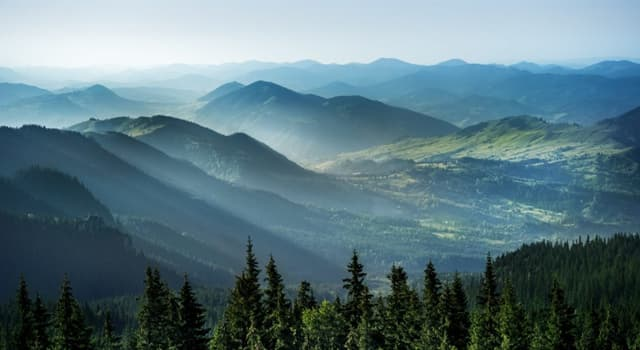 Geography Trivia Question: Which of these is the third-longest European mountain range?