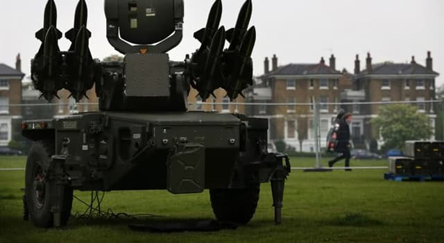 Sport Trivia Question: Which Olympic Games was held in ''anti-aircraft'' defences with ''no-fly zone'' operation?