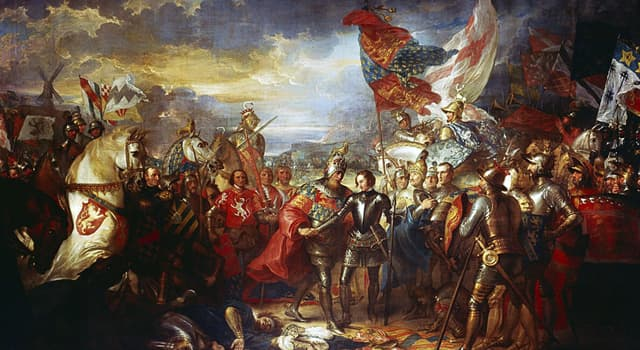 History Trivia Question: Who commanded England's armies in France during a critical phase of the Hundred Years' War?