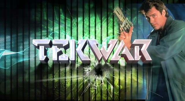 "Culture Trivia Question: Who is credited in writing the science fiction novel ""TekWar""?"
