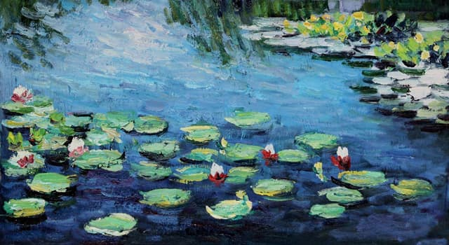 "Culture Trivia Question: Who is the author of the series of oil paintings ""Water Lilies""?"