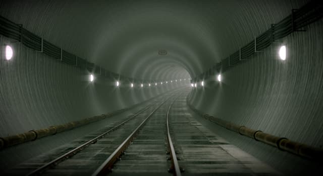 Society Trivia Question: As of 2019, which is the longest continuous subway tunnel that is still in use?