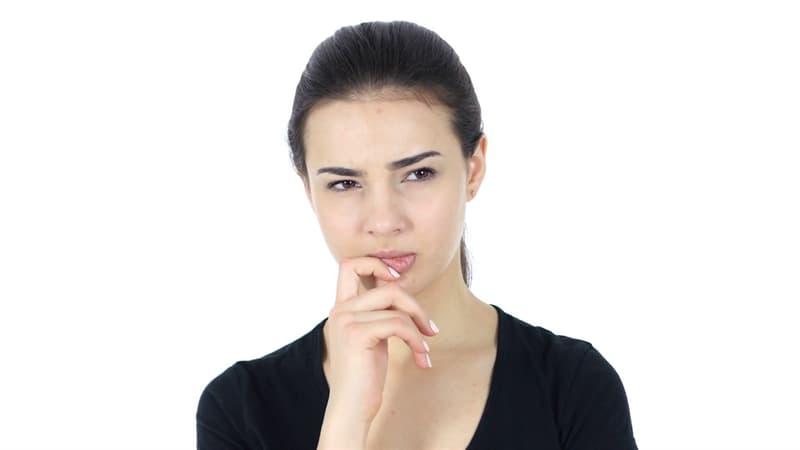 Наука Вопрос: Что такое онихофагия?