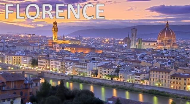 Geographie Wissensfrage: Florenz ist die Hauptstadt welcher italienischen Region?
