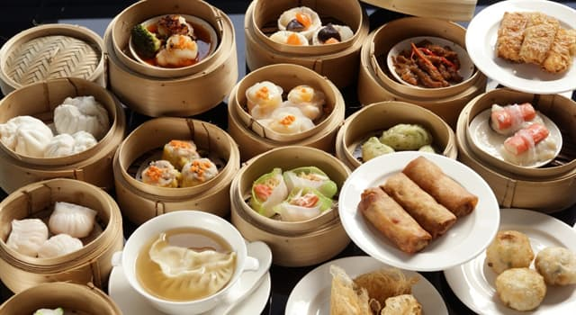 Culture Trivia Question: In Chinese cuisine, what is the name of small bite-sized portions of food served in small baskets?
