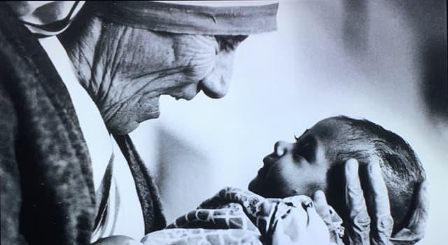 Geschichte Wissensfrage: In welchem Jahr erhielt Mutter Teresa den Friedensnobelpreis?