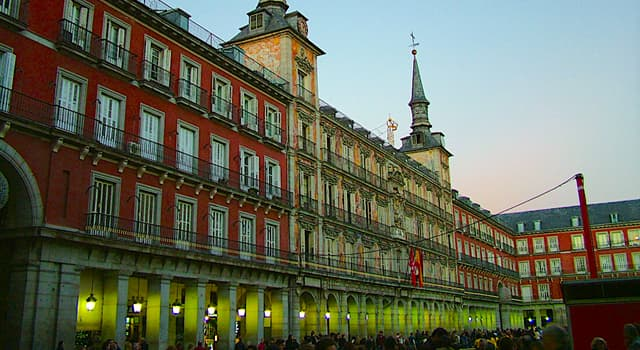 """Geography Trivia Question: In which Spanish city would you find a square called 'Plaza Mayor""""?"""