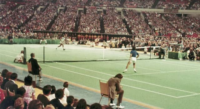 """Sport Trivia Question: In which year was the """"Battle of the Sexes"""" tennis match between Bobby Riggs and  Billie Jean King?"""