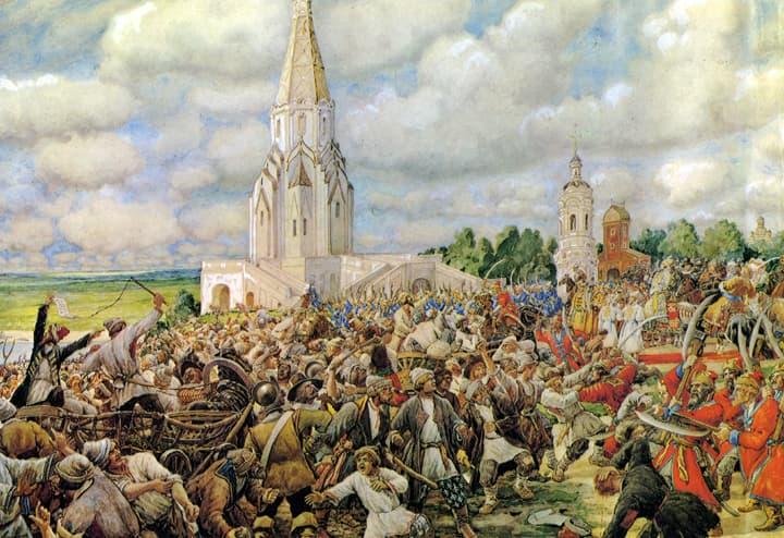 История Вопрос: В каком году в Москве произошел Чумной бунт?